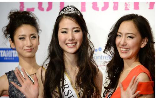 广州营销策划公司看日本环球小姐比赛