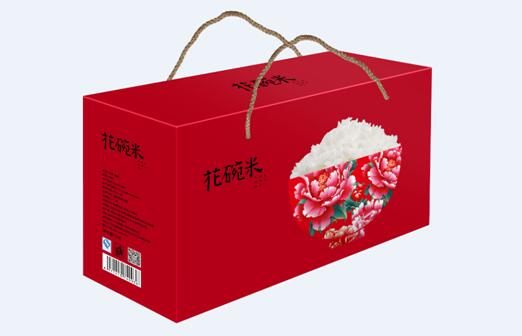 花碗米包装设计