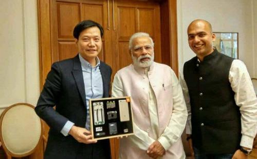 雷军和印度总理