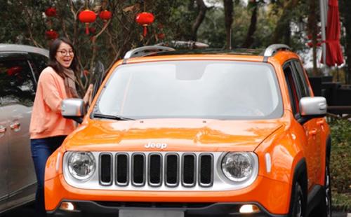 jeep的情人节另类玩法